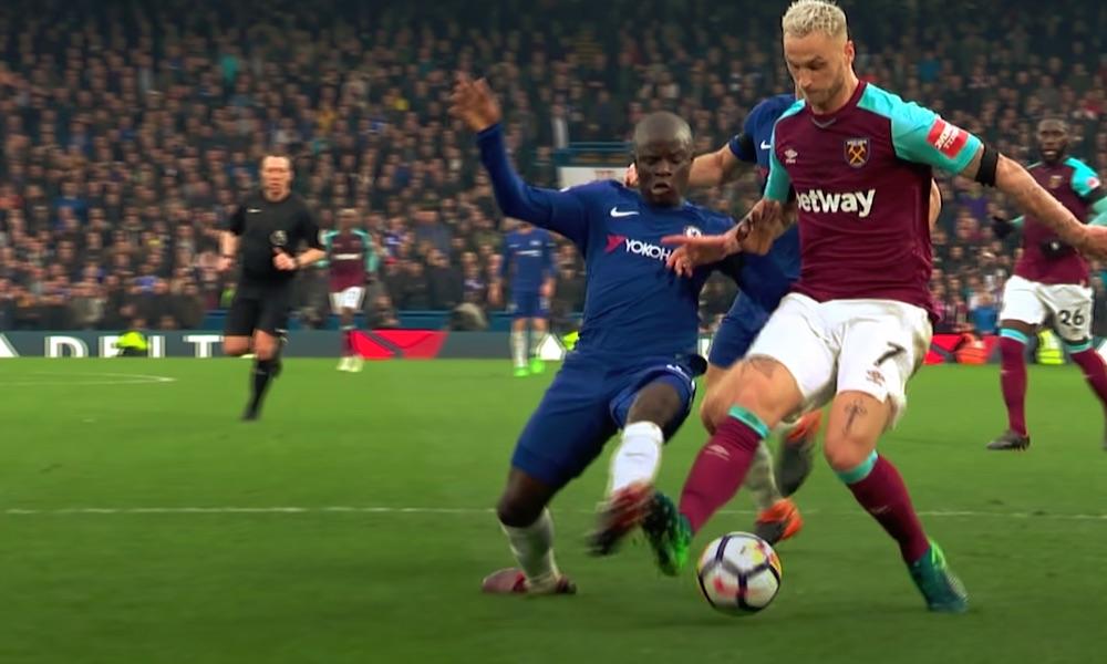 N'Golo Kante ei pelaa, tai ainakaan harjoittele, Chelseassa koronaviruspandemiasta johtuen.