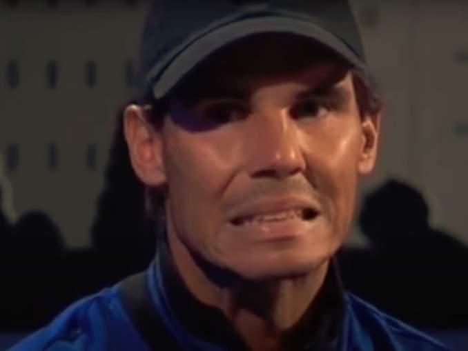 Fanit luulivat Rafael Nadalin lopettavan, mutta todellisuudessa kyse olikin amerikkalaisesta hevosesta.