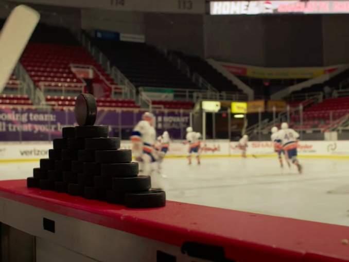 NHL miettii monia erilaisia vaihtoehtoja muun muassa äänimaailman toteutukseen ilman faneja.