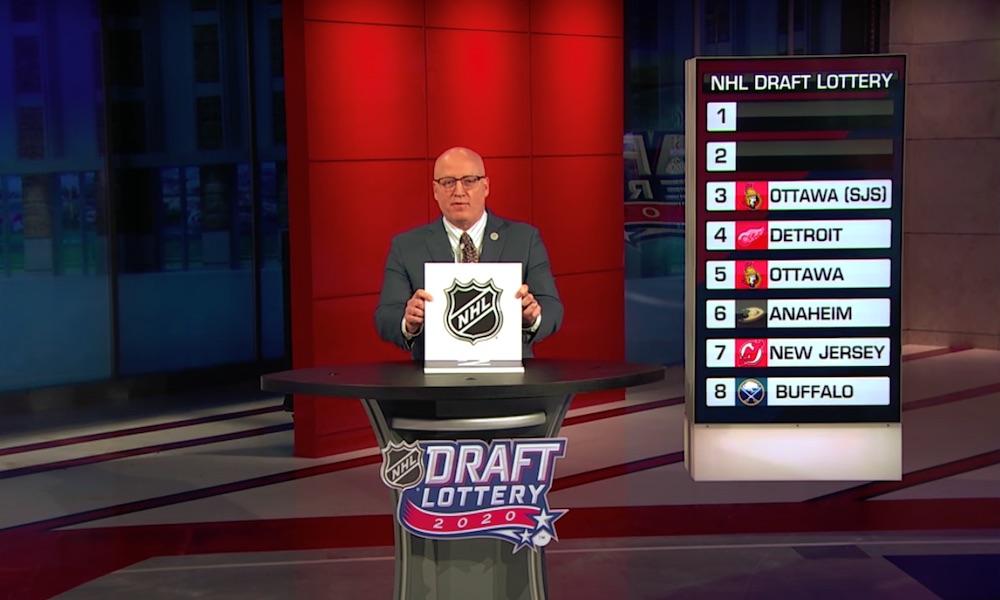 NHL Draft Lottery täysi farssi: runkosarjan jälkeen pudotuspelien ulkopuolelle jääneet seurat jäivät rannalle ruikuttamaan.