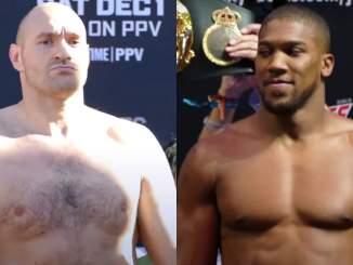 Tyson Fury ja Anthony Joshua tienaavat vähintään 100 miljoonaa euroa mieheen tulevista kohtaamisistaan.