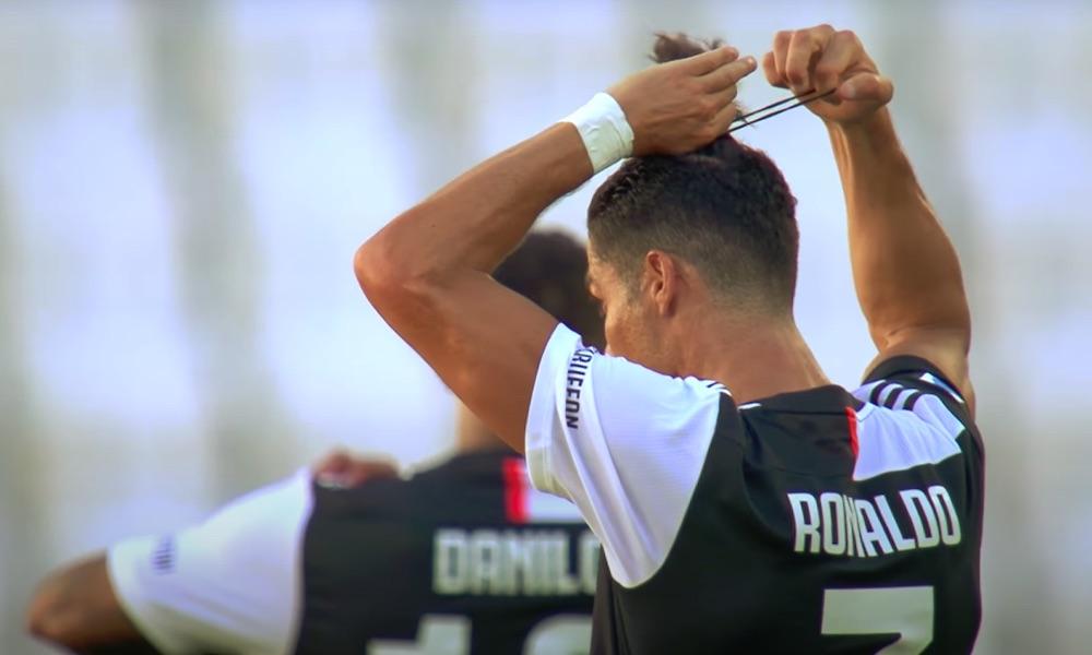 Cristiano Ronaldo teki uskomatonta historiaa, kun hän ylsi viikonloppuna 25:een Serie A -maaliin kauden 2019-2020 osalta.