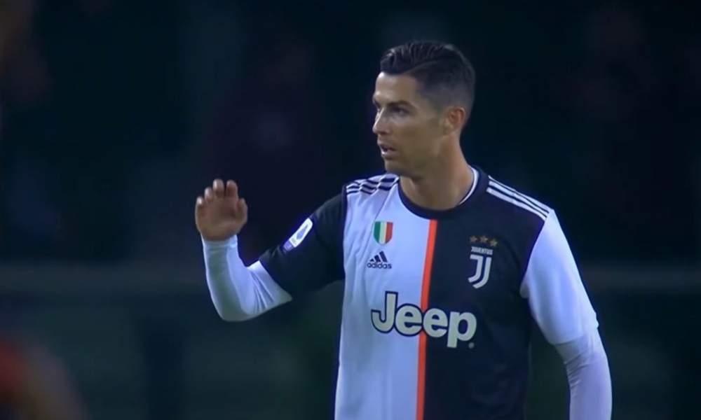 VIDEO: Cristiano Ronaldo turhautui Juventus-managerin neuvoihin.