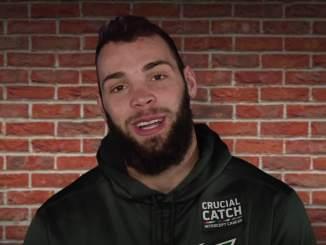 NFL-pelaaja tyrmättiin rajusti ravintolassa, kun mies hyökkäsi Philadelphia Eaglesin pelaajan kimppuun ja löi hänet tajuttomaksi.