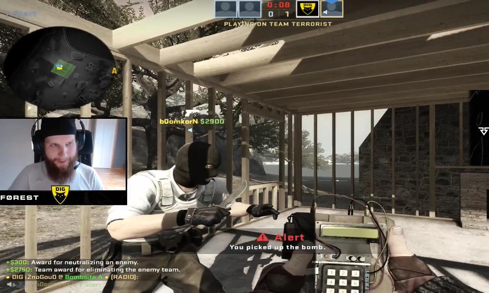 """VIDEO: Pelaaja ei tunnistanut CS-legenda f0restia - """"Mikä tuo kolikko on?""""  Urheiluvedot.com"""