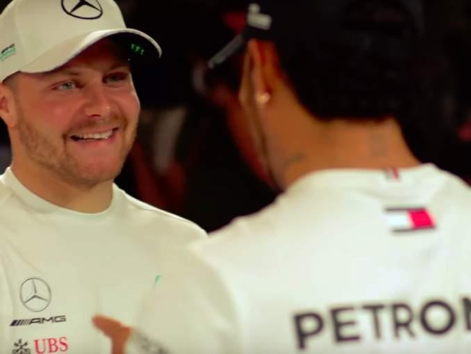 Lewis Hamilton voittoon Steiermarkin GP:ssä, Valtteri Bottas ajoi toiseksi ja kolmanneksi sijoittui Red Bullin 22-vuotias Max Verstappen.