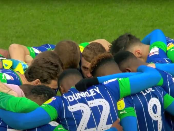 Wigan teki 7 maalia 44 minuuttiin Championship-ottelussa Hull Cityä vastaan.