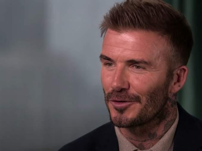 ManU-legenda David Beckham seuraavan jättidokumentin tähti?