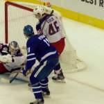 Columbus Blue Jacketsin Joonas Korpisalolla unelmadebyytti pudotuspeleissä: nollasi Toronto Maple Leafsin.