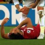 Dejan Lovren kosti Salahin puolesta Sergio Ramosille, kun Kroatia kohtasi Espanjan Nations Leaguessa.