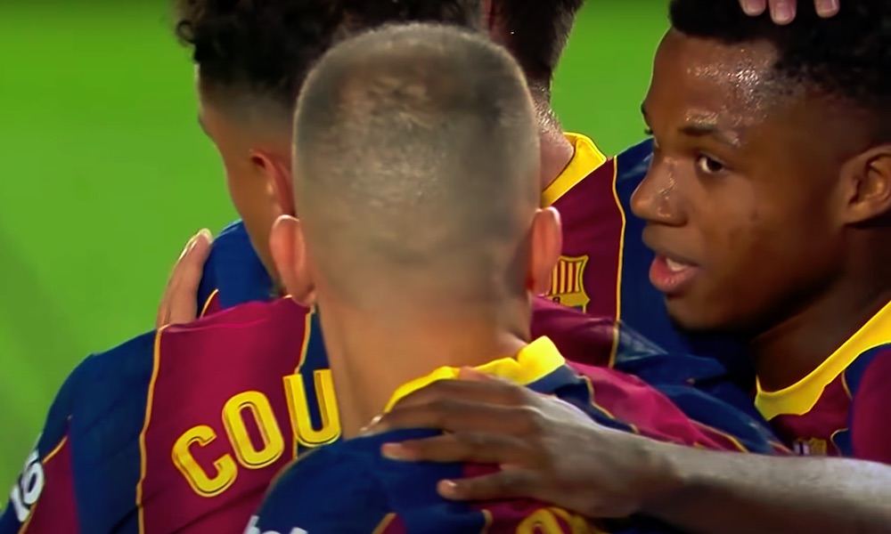 Ansu Fati loisti FC Barcelonan kotiottelussa Villarrealia vastaan, mutta häntä ei voitu valita ottelun parhaaksi pelaajaksi varsin hämmentävästä syystä johtuen.