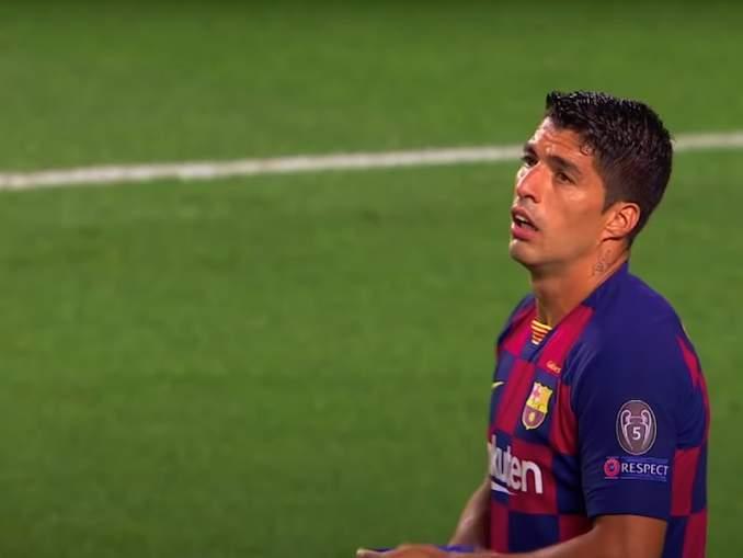Luis Suarez katsomossa koko kauden? FC Barcelona ongelmissa uruguaylaisen kanssa.