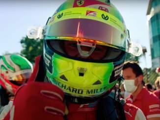 Mick Schumacher voitti