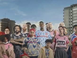 Adidas ja Pharrell Williams julkaisi upeat pelipaidat usealle seuralle.