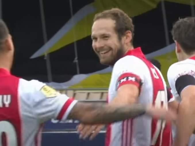 ässä ei ollut mitään epäselvää - Ajax murskasi VVV-Venlon 13-0.
