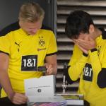 Dortmundin pelaajien reaktio FIFA-arvoihin | Urheiluvedot.com