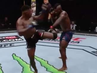 Vuoden näyttävin tyrmäys nähtiin viime yönä UFC Fight Night 179 -illassa, kun Joaquin Buckley vastustajansa huikealla kierrepotkulla.