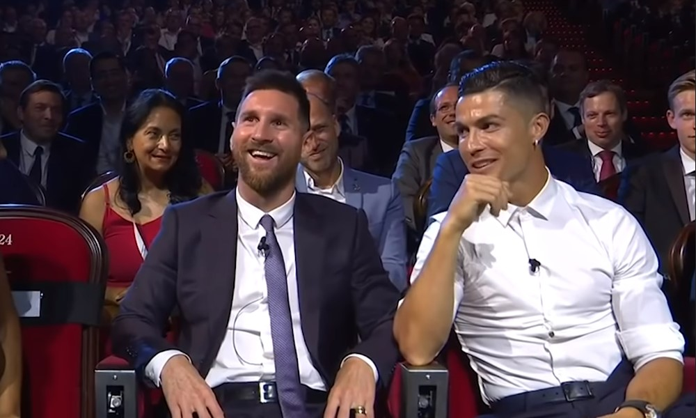 Miksi fanit laulavat Cristiano Ronaldolle Messi, Messi, Messi.