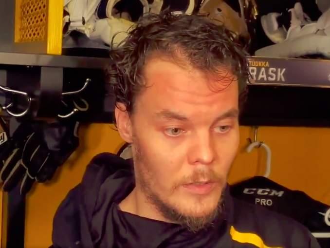 Tuukka Rask teki hyvin selväksi, ettei hän halua pelata missään muualla kuin Boston Bruinsissa.