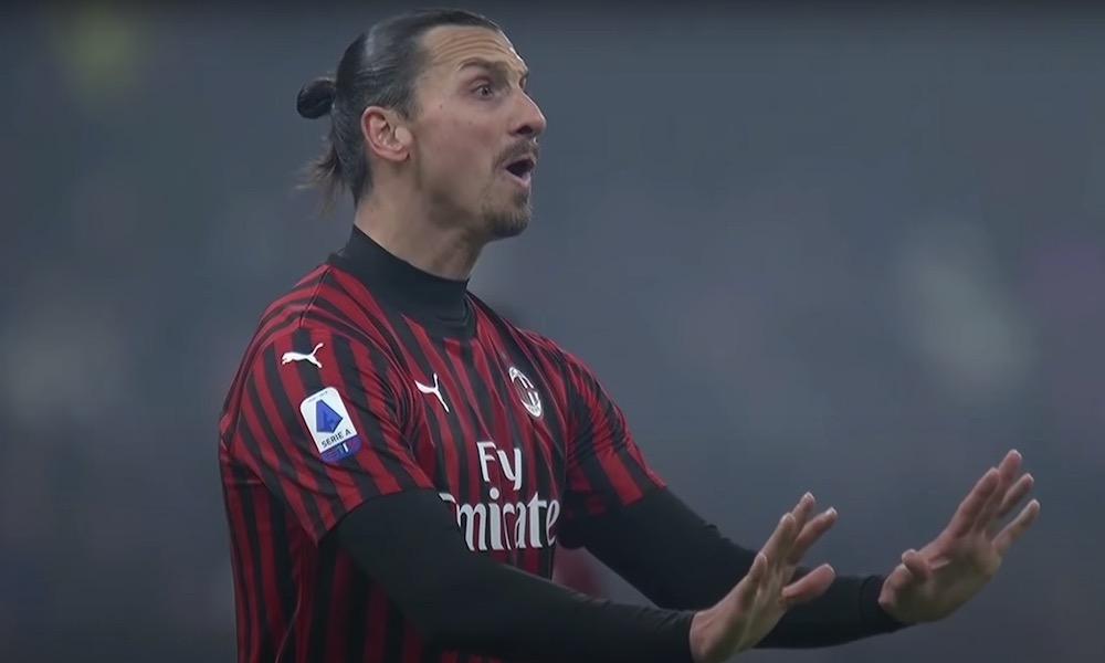 Zlatan uhosi Inter-voiton myötä tuttuun tapaansa.