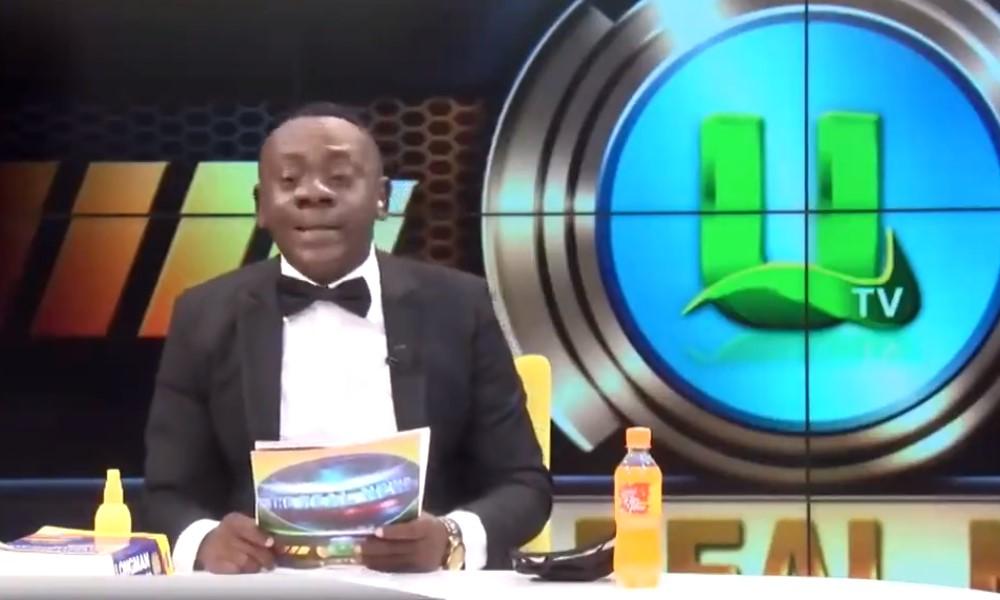 Päivän naurut - Ghanalainen koomikko lukee jalkapallotuloksia.