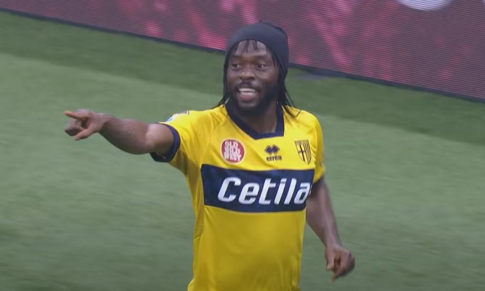 Entinen Arsenal-tähti Gervinho iski silmiä hivelevän volley-maalin.