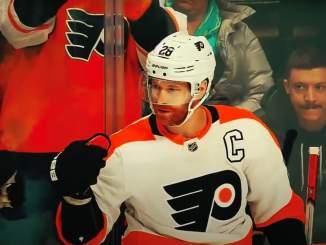 Claude Giroux ei murehdi ikäänsä: Philadelphia Flyersin kipparin itseluottamus on huipussaan.